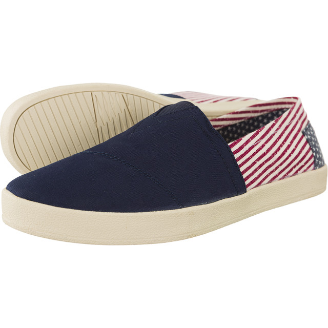 Canvas Flag Mens Avalon Sneaker 923