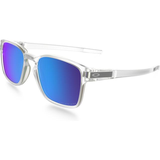 Latch SQ Matte Clear Sapphire Irid Pol