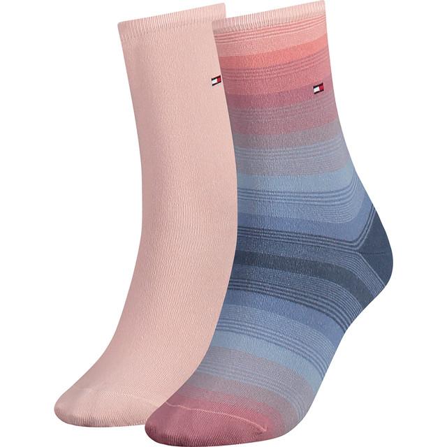 Women Ombre Sock 2P 356