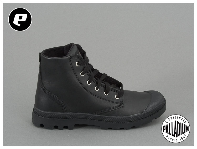 palladium pampa hi leather winter schuhe boots leder neu ebay. Black Bedroom Furniture Sets. Home Design Ideas