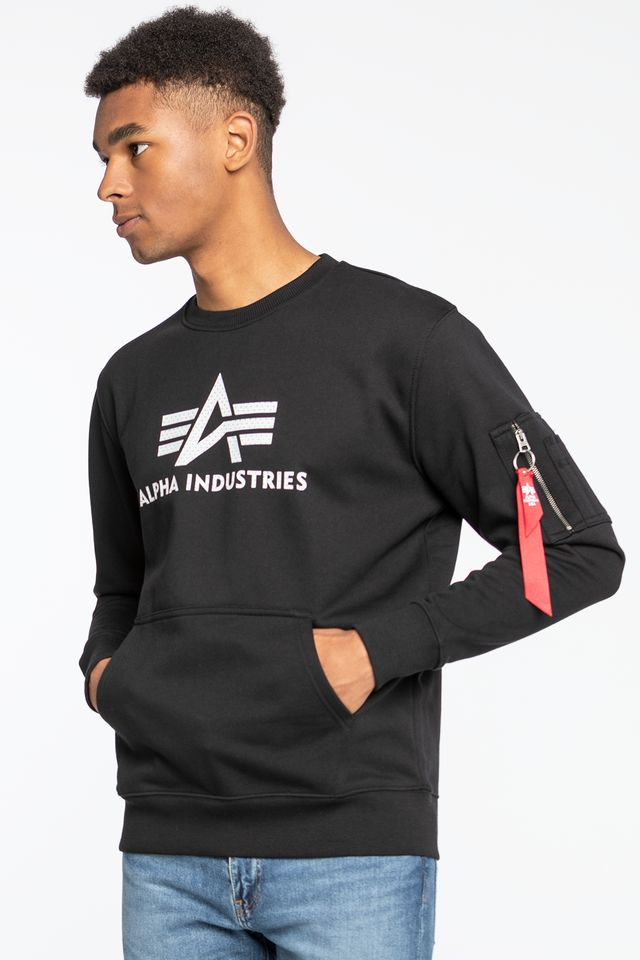 Alpha Industries 3D Logo Sweater 128302-03 BLACK
