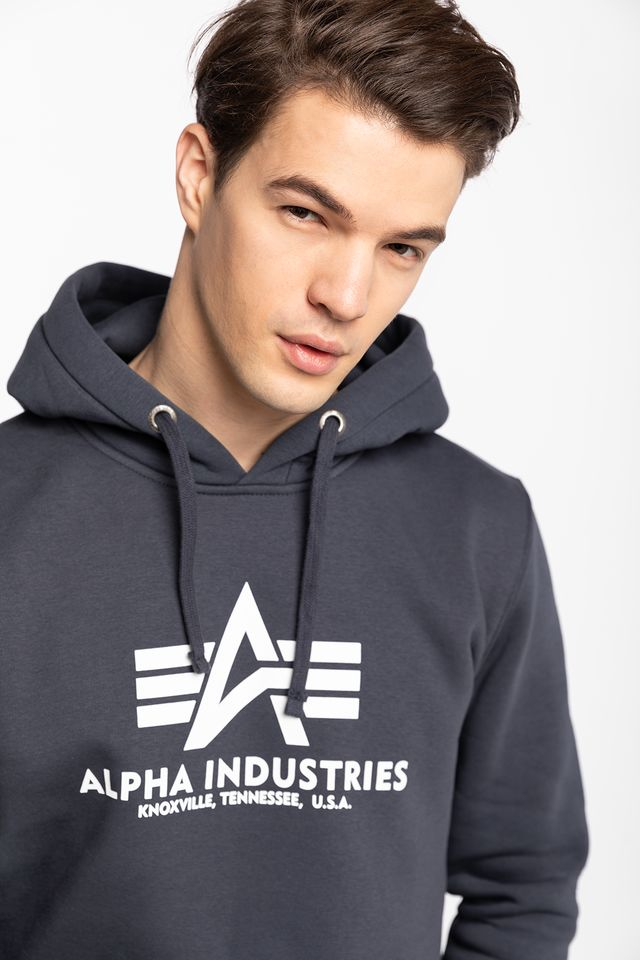 Bluza Alpha Industries  <br/><small>BASIC HOODY 02 NAVY </small>  178312-02