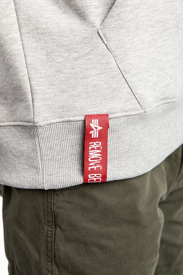 Bluza Alpha Industries  <br/><small>BASIC HOODY 17 GREY HEATHER </small>  178312-17
