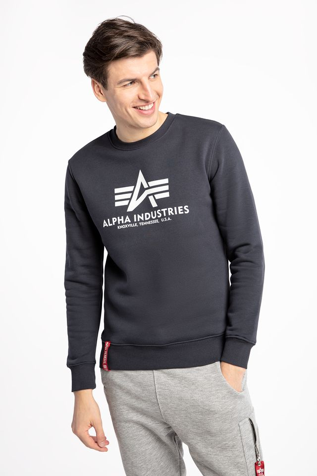 Alpha Industries BASIC SWEATER 02 NAVY 178302-02