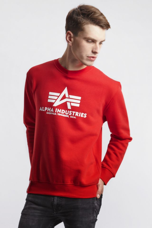 Alpha Industries BASIC SWEATER 328 SPEED RED 178302-328