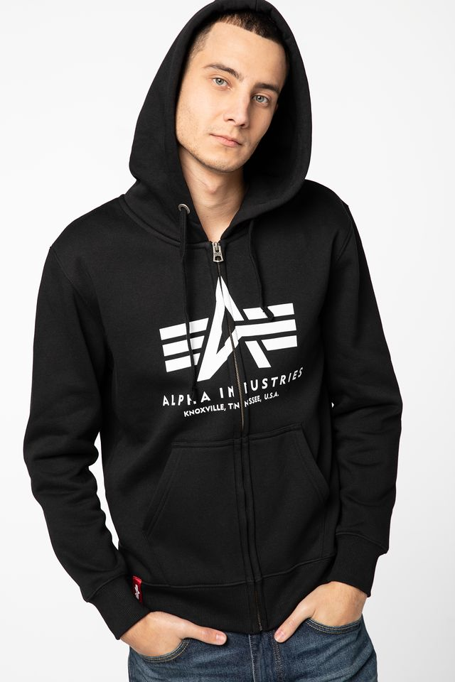 Alpha Industries Basic Zip Hoody 178325-03