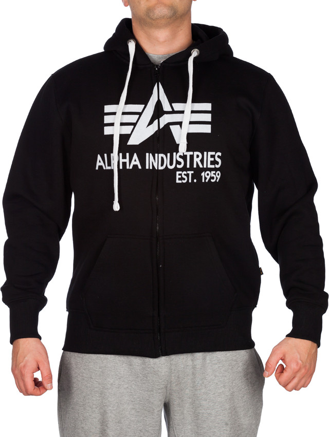 Bluza Alpha Industries  <br/><small>Big A Classic Zip Hoody 703 </small>  103307-03