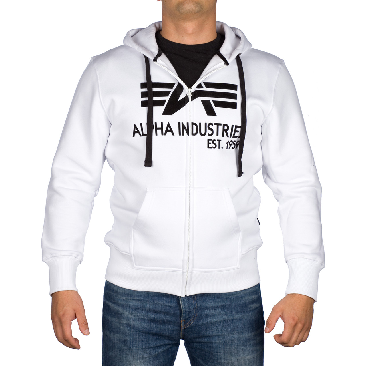 Bluza Alpha Industries  <br/><small>Big A Classic Zip Hoody 709 </small>  103307-09