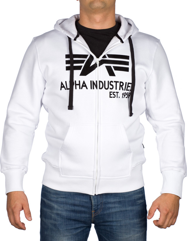 Alpha Industries Big A Classic Zip Hoody 709 103307-09