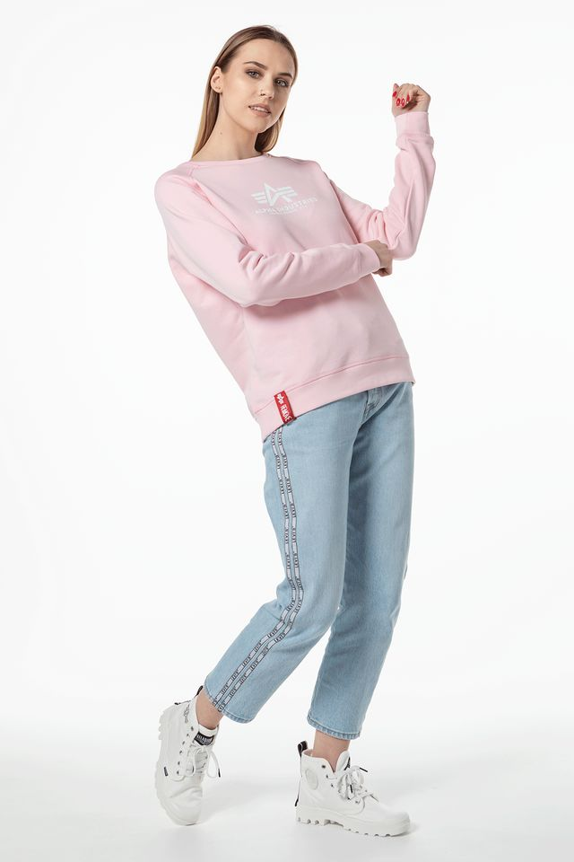 PASTEL PINK NEW BASIC SWEATER WMN 491