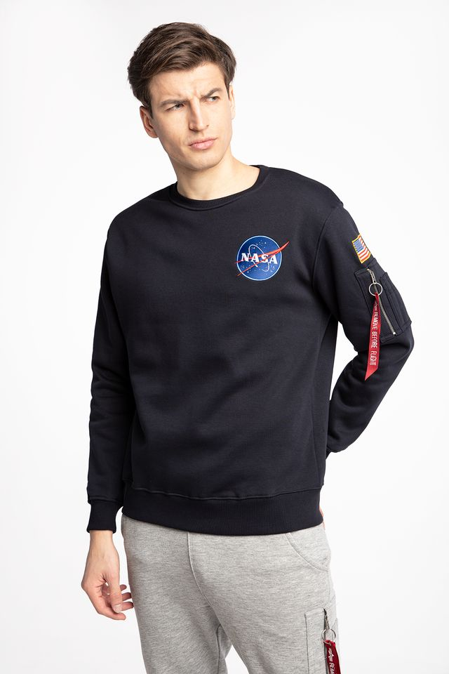 Alpha Industries SPACE SHUTTLE SWEATER 07 REP. BLUE 178307-07