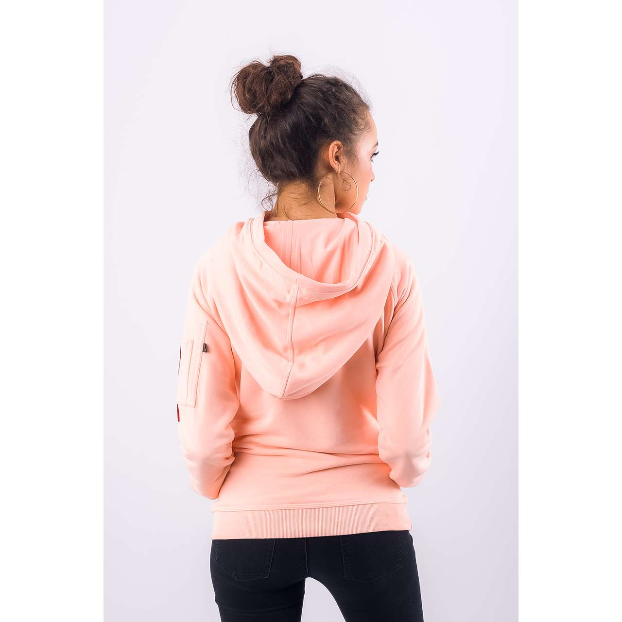 Bluza Alpha Industries  <br/><small>X-FIT HOODY WMN 396 APRICOT </small>  176030-396