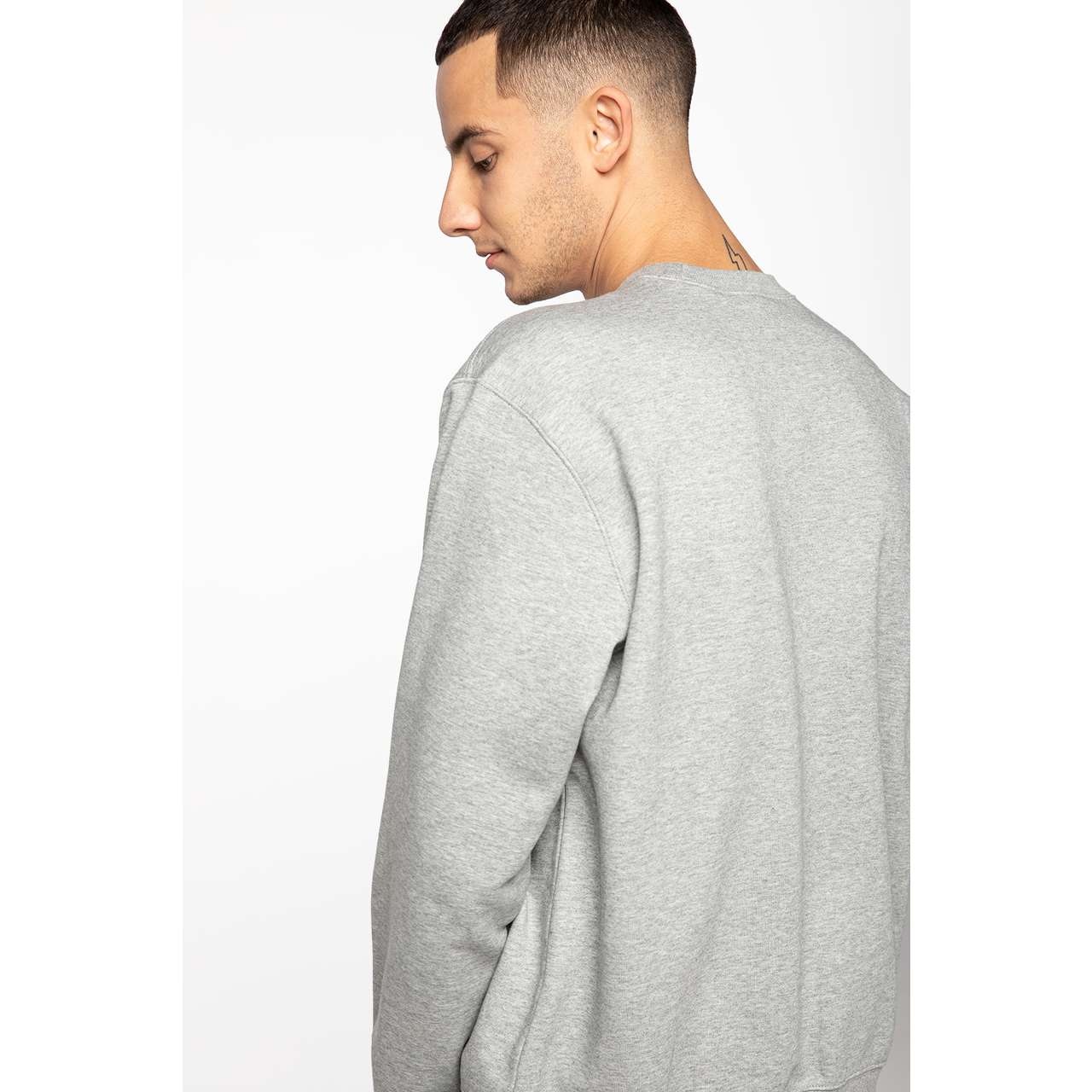 Bluza Carhartt WIP  <br/><small>CARHARTT SWEATSHIRT V690 GREY HEATHER/BLACK </small>  I027092-V69003