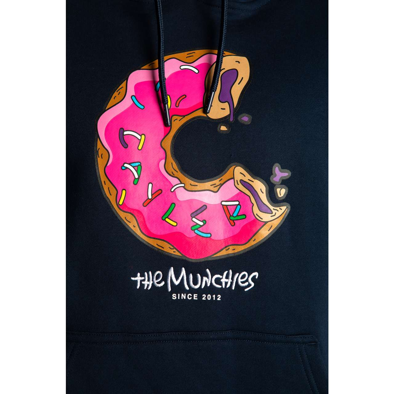 Bluza Cayler & Sons  <br/><small>LOS MUNCHOS HOODY 01194 NAVY/MC </small>  CS1391-01194