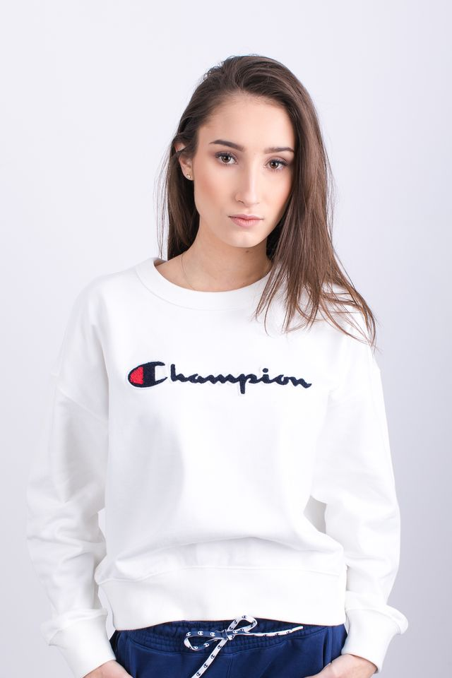 Champion CREWNECK SWEATSHIRT WW001 WHT 111384-WW001