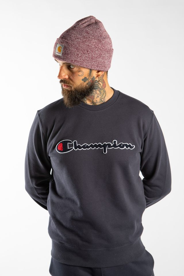 Champion CREWNECK SWEATSHIRT BS505 NAVY 213511-BS505