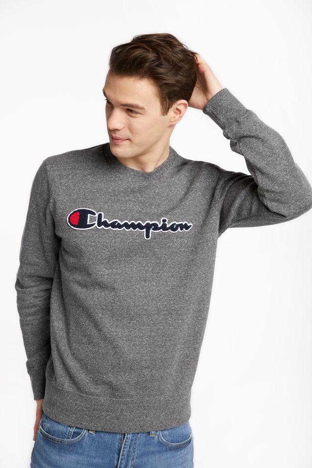 Champion CREWNECK SWEATSHIRT EM516 DARK GREY 213511-EM516