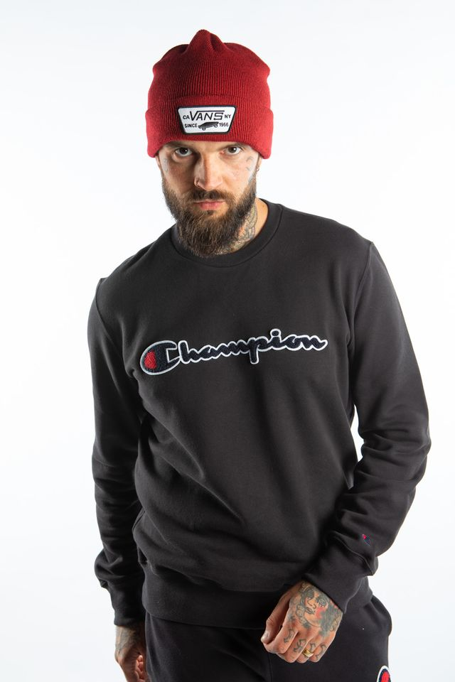 Champion CREWNECK SWEATSHIRT KK001 BLACK 213511-KK001