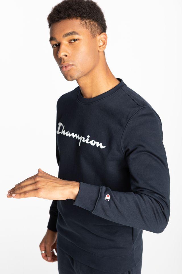 Champion Crewneck Sweatshirt 214744-BS501 NAVY