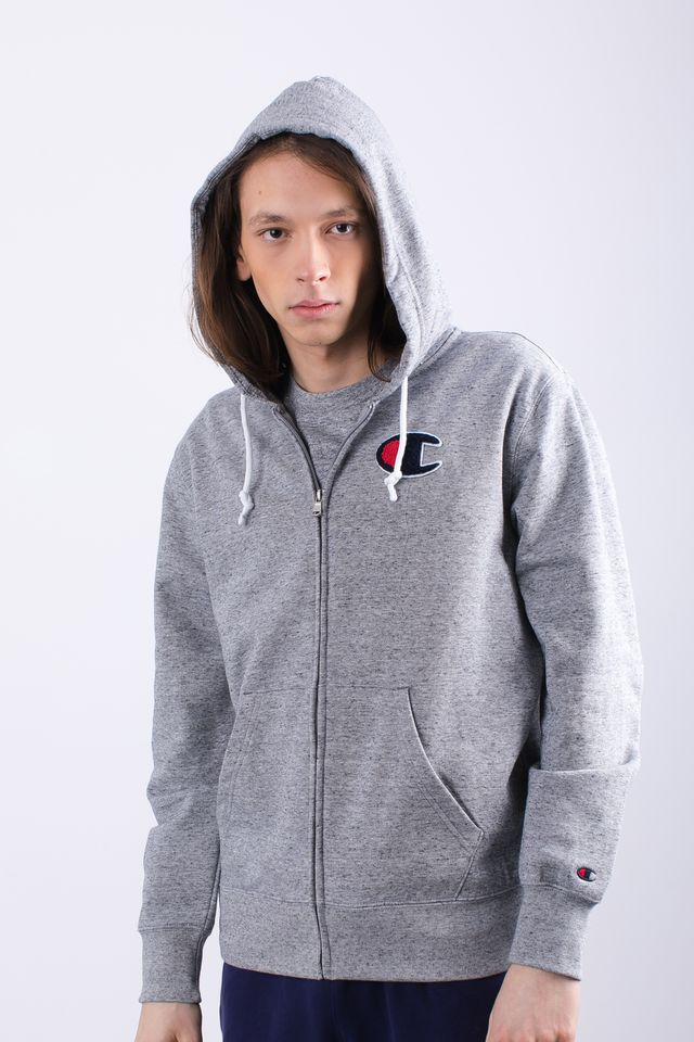 Champion HOODED FULL ZIP SWEATSHIRT EM017 GRLTM 212941-EM017