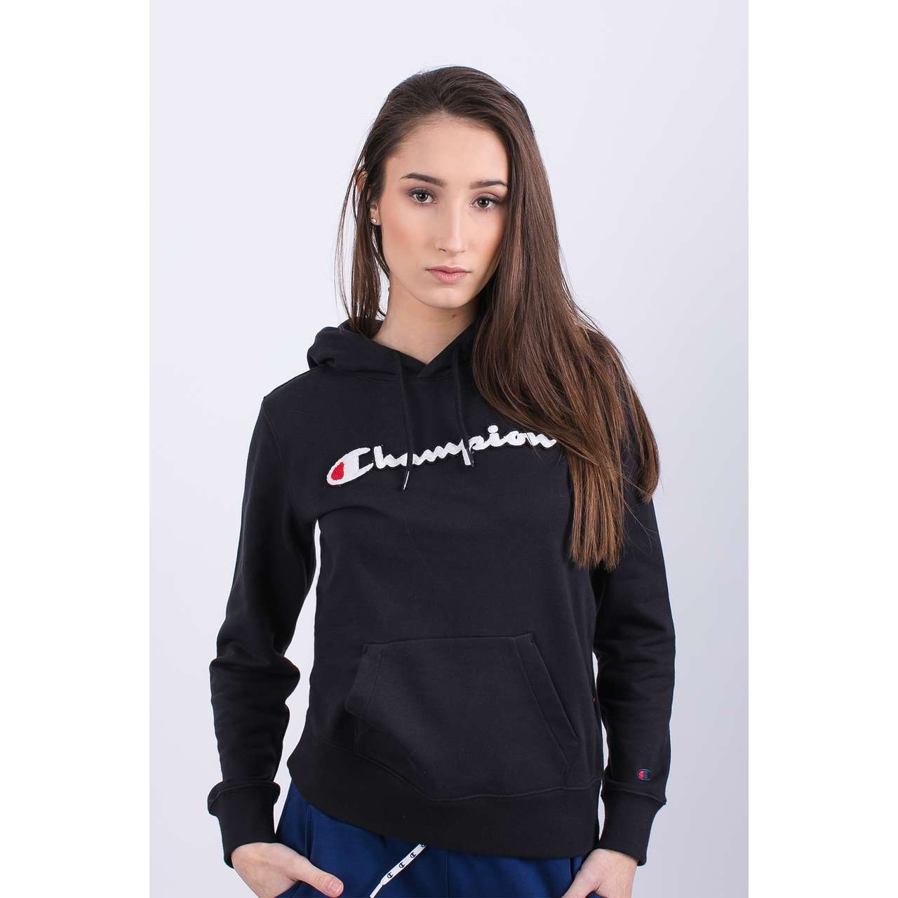 Bluza Champion  <br/><small>HOODED SWEATSHIRT KK001 NBK </small>  111383-KK001