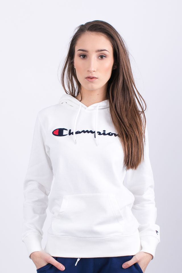 Champion HOODED SWEATSHIRT WW001 WHT 111383-WW001