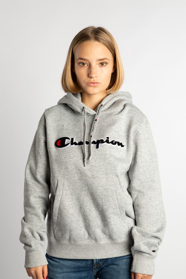 Champion HOODED SWEATSHIRT EM021 GREY 111965-EM021