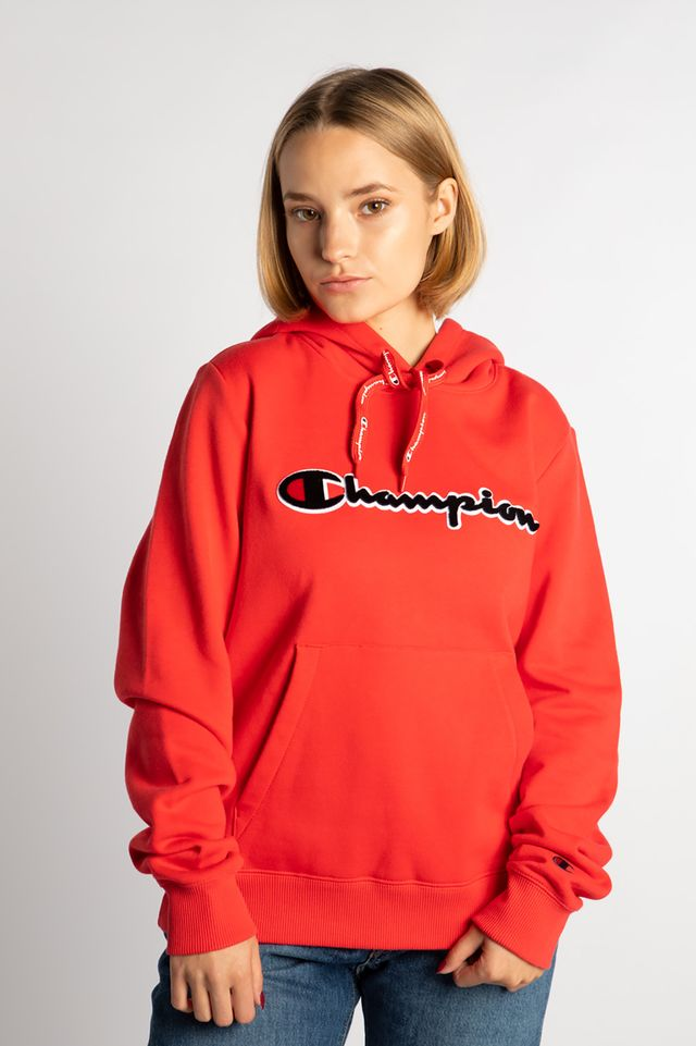 Champion HOODED SWEATSHIRT PS118 RED 111965-PS118