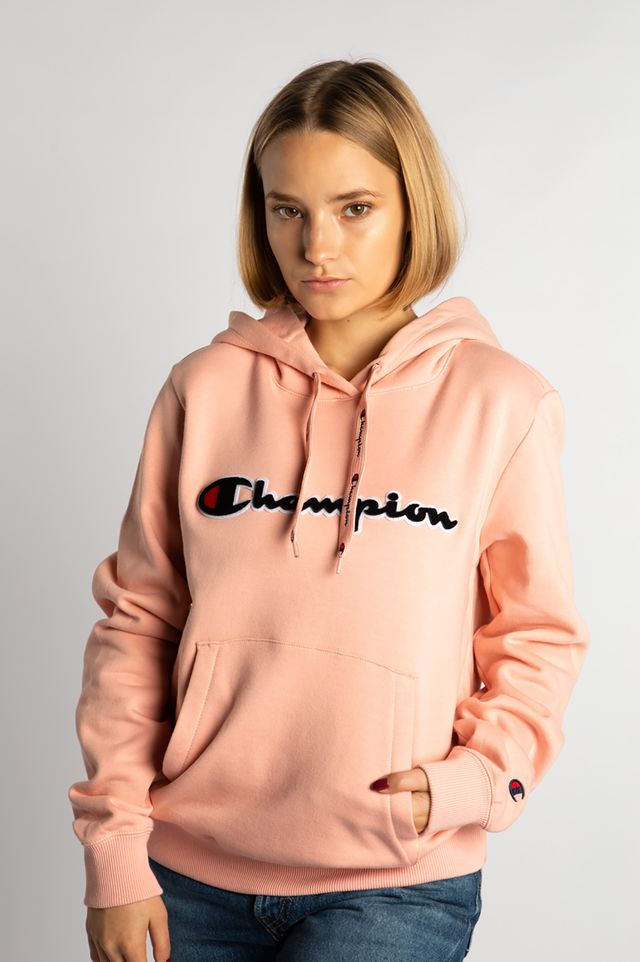 Champion HOODED SWEATSHIRT PS119 PINK 111965-PS119