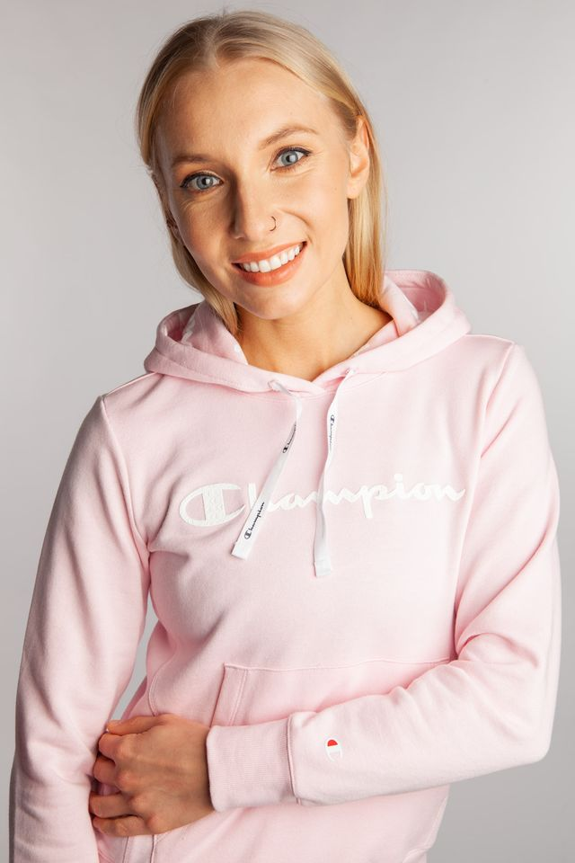 Champion HOODED SWEATSHIRT PS063 ROSE 112580-PS063