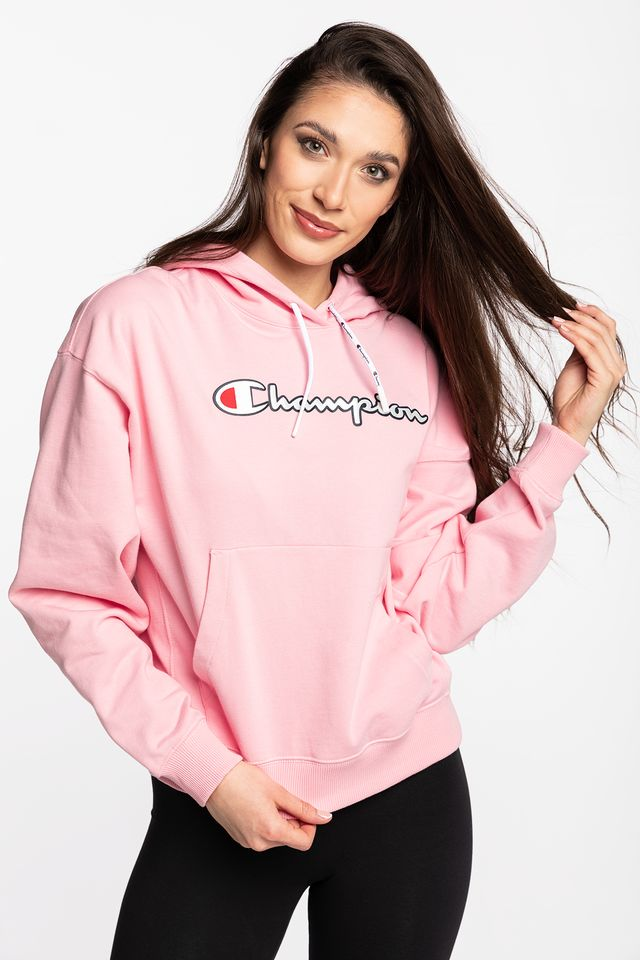 Champion HOODED SWEATSHIRT PS024 PINK 112638-PS024