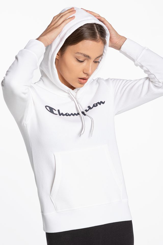 Champion Hooded Sweatshirt 207 WHITE 113207-WW001