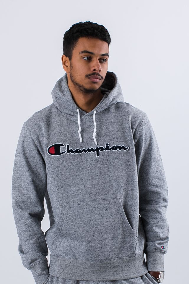 Champion HOODED SWEATSHIRT EM017 GRLTM 212940-EM017