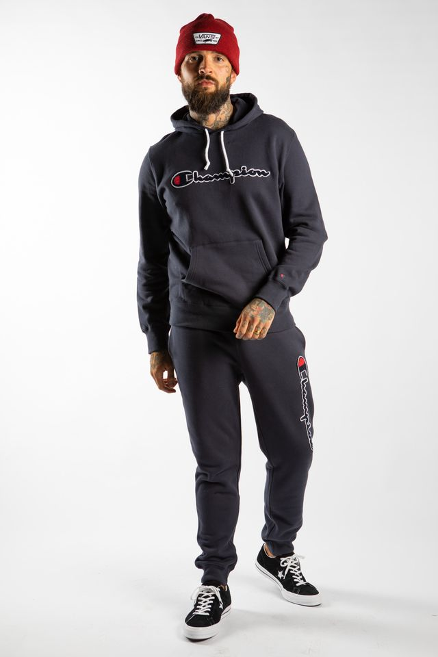 Bluza Champion  <br/><small>HOODED SWEATSHIRT BS505 NAVY </small>  213498-BS505