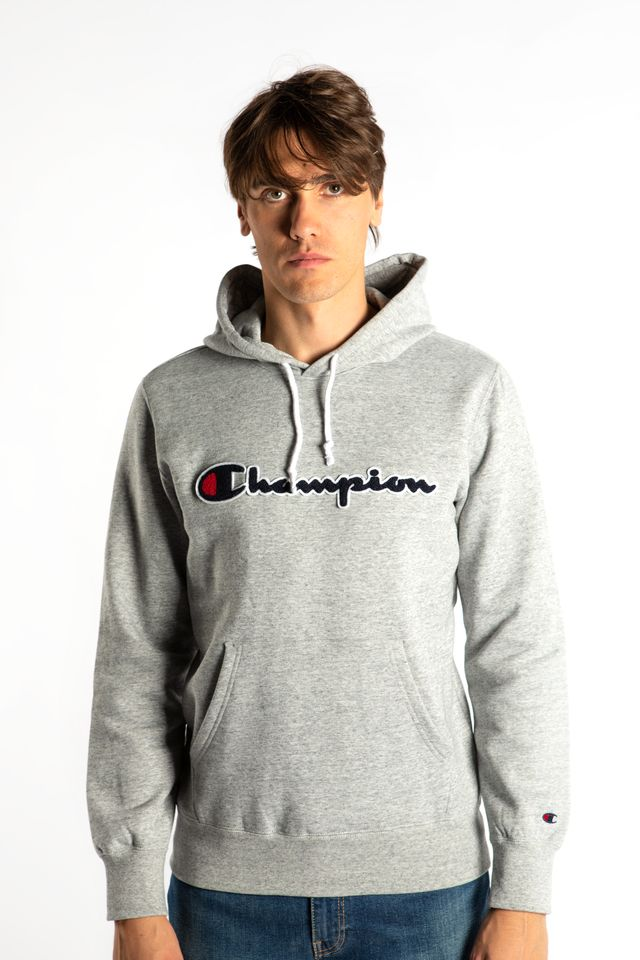 Champion HOODED SWEATSHIRT EM021 GREY 213498-EM021