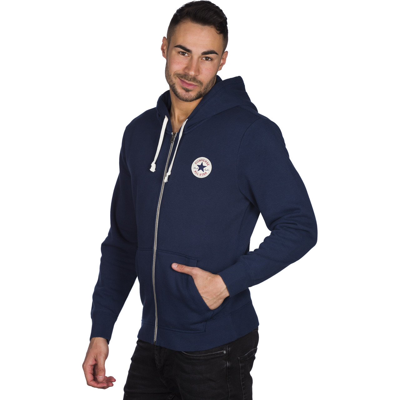 Bluza Converse  <br/><small>Amk Core Full Zip Hoodie 414 </small>  11791C-414