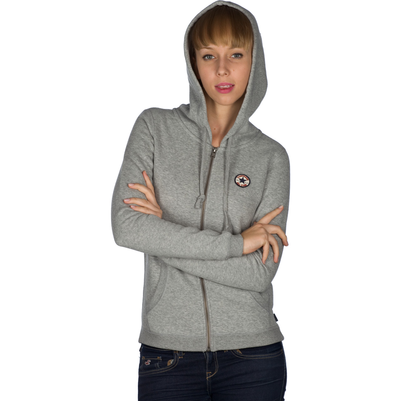 Bluza Converse  <br/><small>AWK GF CORE FLEECE FZ HD 035 </small>  08833C-035