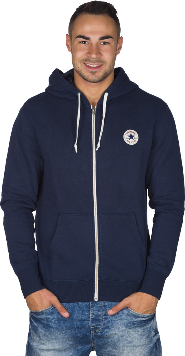 Bluza Converse  <br/><small>Core Full Zip Hoodie 414 </small>  10002131-414