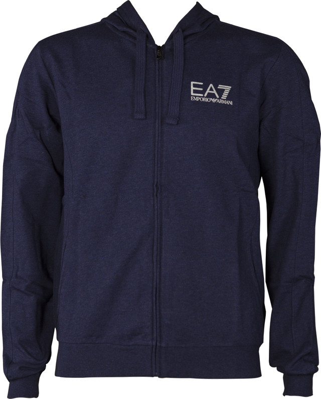 EA7 Emporio Armani TRAIN CORE ID M HOODIE FZ COFT DARK MEL.BLUE 3ZPM59PJ05Z-3502