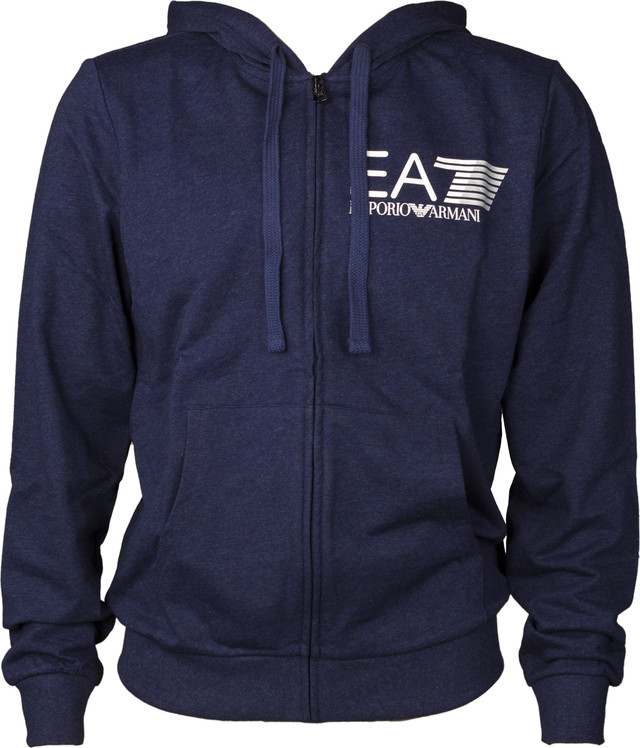 EA7 Emporio Armani TRAIN VISIBILITY M HOODIE FZ COFT DARK MEL.BLUE 3ZPM99PJ05Z-3502