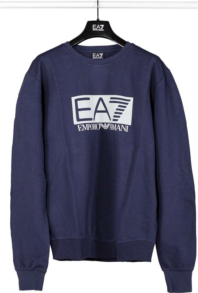 EA7 Emporio Armani SWEATSHIRT JERSEY 1554 NAVY BLUE 3GPM60PJ05Z-1554