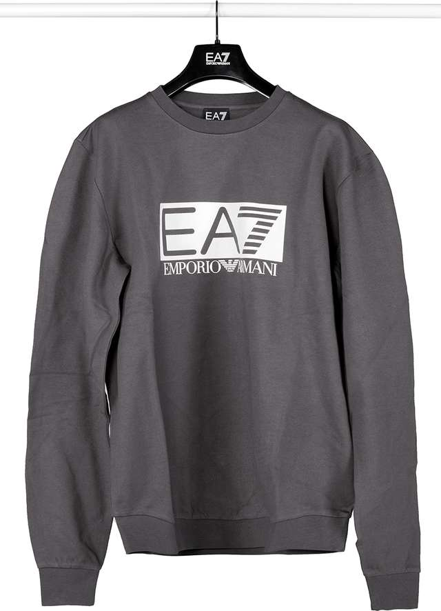 EA7 Emporio Armani SWEATSHIRT JERSEY 1993 ASPHALT 3GPM60PJ05Z-1993