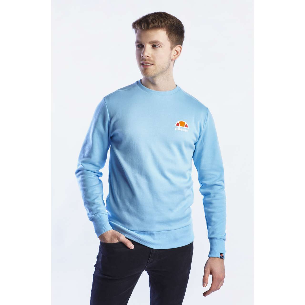 Bluza Ellesse  <br/><small>ANGUILLA SWEATSHIRT LIGHT BLUE </small>  SHB07261