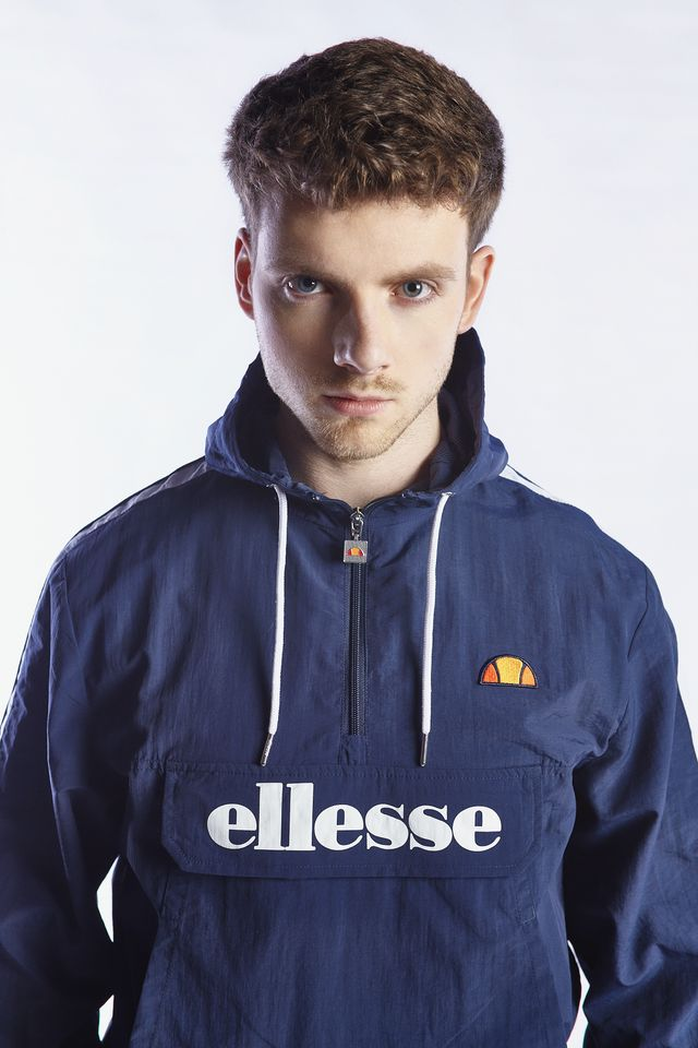 Ellesse FIGHTER 1/2 ZIP TRACK TOP NAVY SHB06836