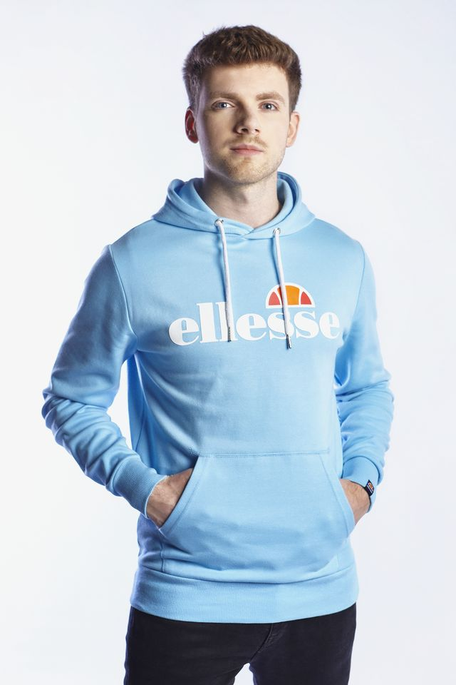 Ellesse RUNAWAY OH HOODY LIGHT BLUE SHB07260
