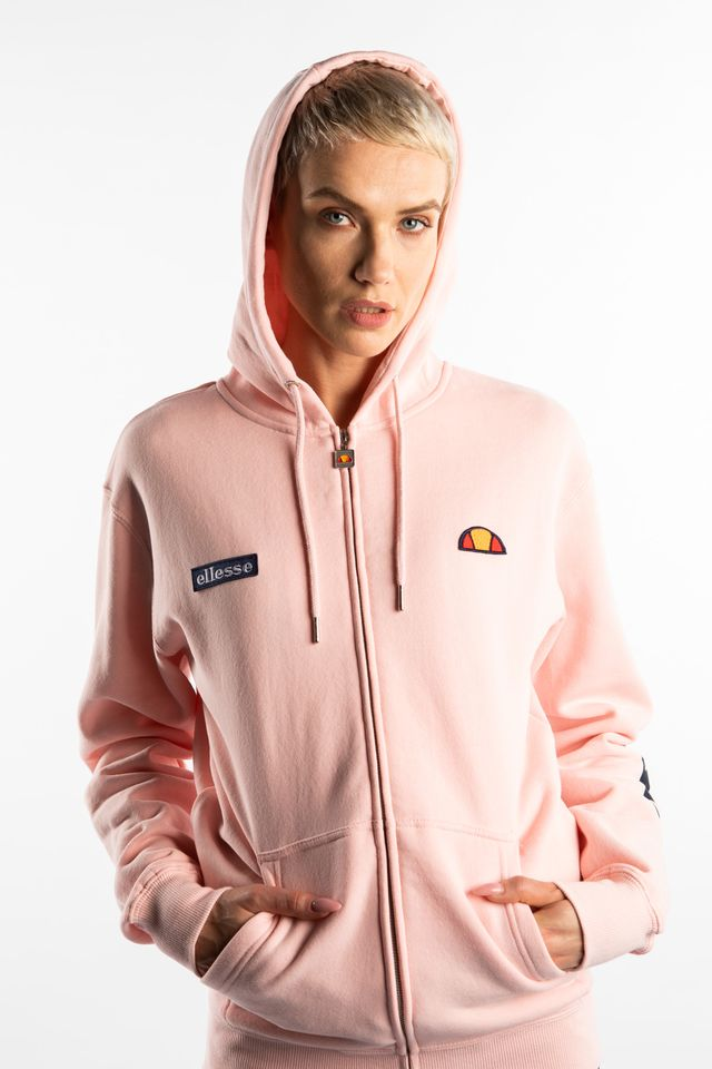 LIGHT PINK SERINATAS FZ HOODY 134