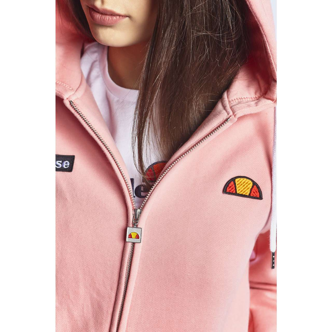 Bluza Ellesse  <br/><small>SERINATAS FZ HOODY SOFT PINK </small>  SGS03134 SOFT PINK