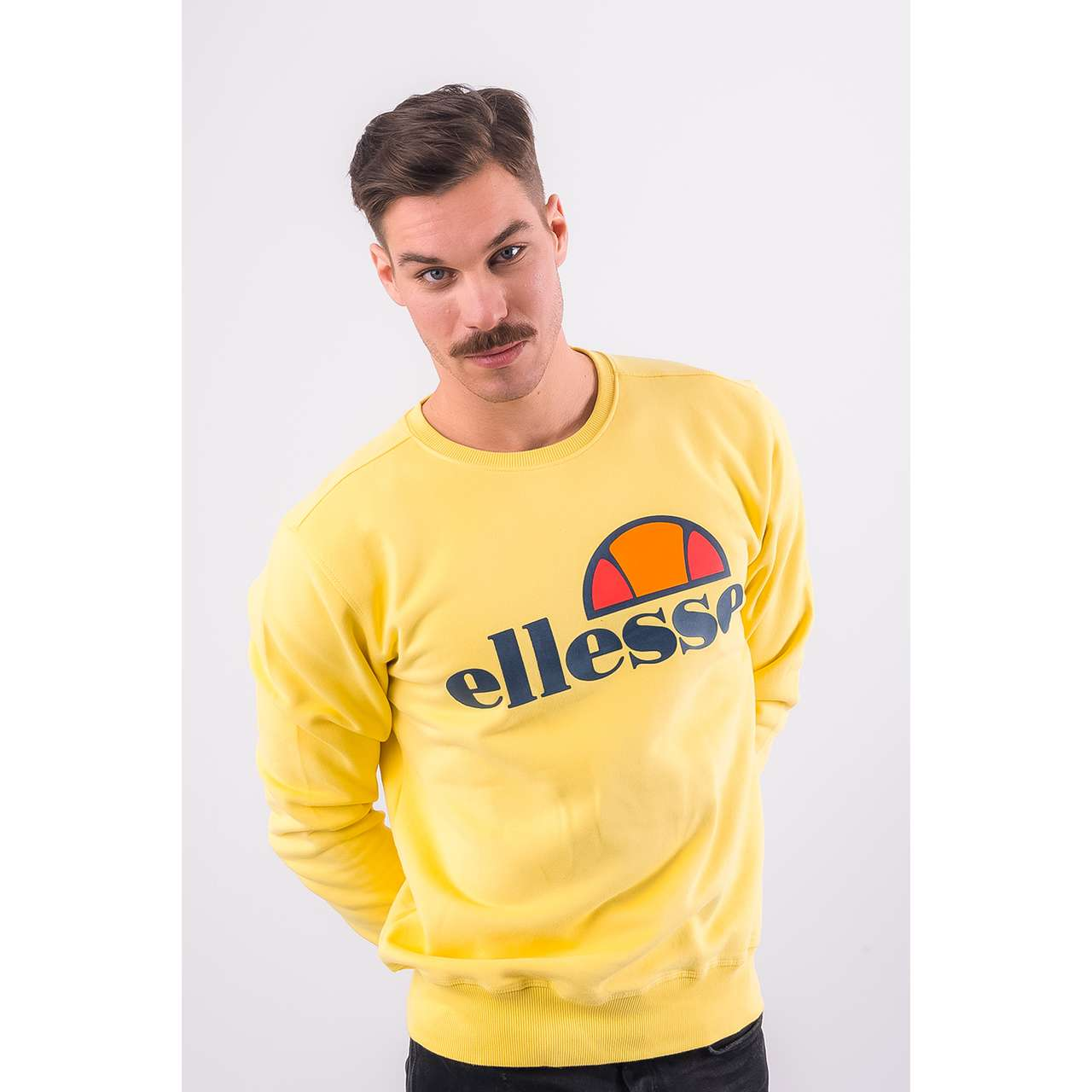 Bluza Ellesse  <br/><small>SUCCISO SWEATSHIRT SHA01148 LIGHT YELLOW </small>