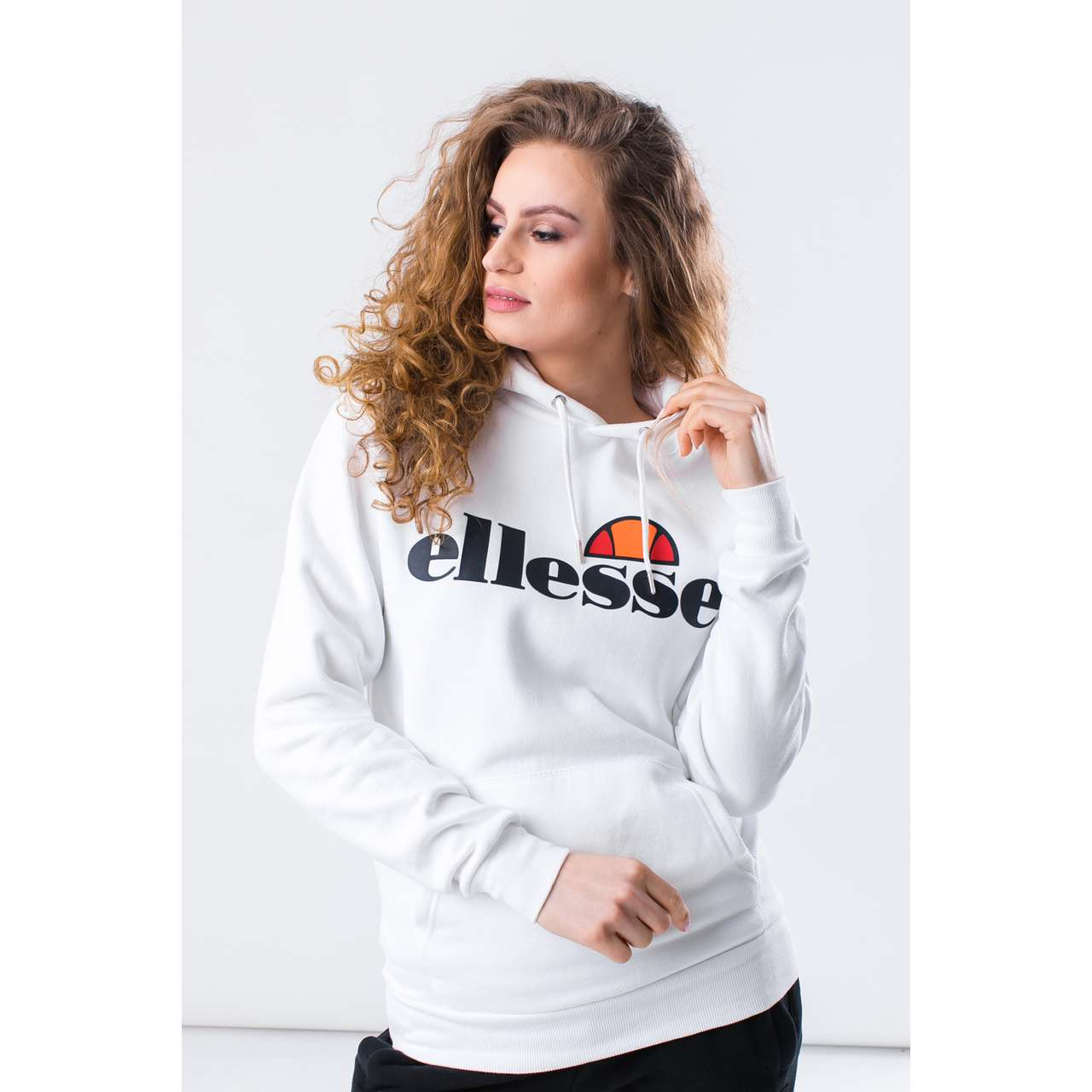Bluza Ellesse  <br/><small>TORICES OH HOODY SGS03344 WHITE </small>