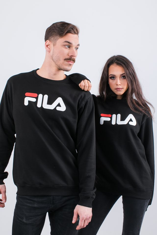 Fila PURE CREW SWEAT 002 BLACK 681091-002
